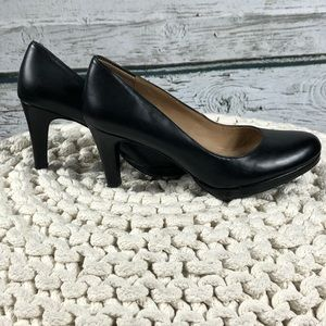 SH-019 Naturalizer Black Heels 8